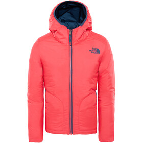 The North Face Rev Perrito Chaqueta Niñas, atomic pink